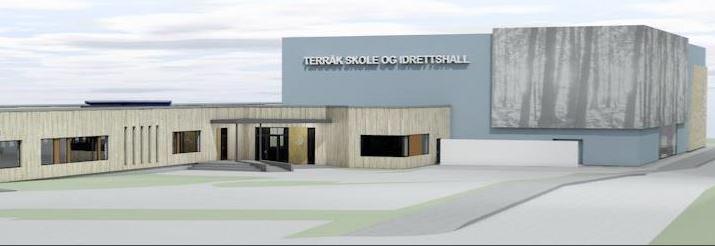 Åpning av idrettshallen på Terråk 23. november