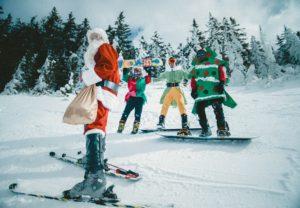 Tid for uteaktivitet i juletida.